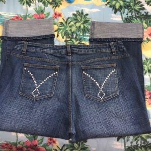 Boom Boom Rhinestone Embellished Jeans